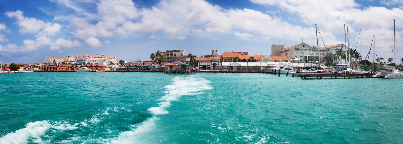 Download Oranjestad, Aruba stock photo. Image of blue, oranjestad - 24595444