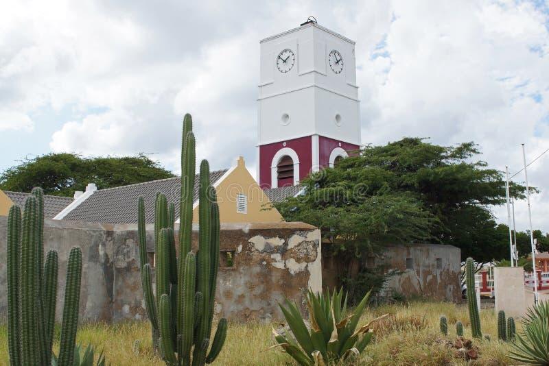 Oranjestad, Aruba, ABC wyspy obraz royalty free