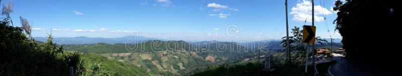 Orario invernale dell'aria fresca di Mountain View fotografie stock libere da diritti