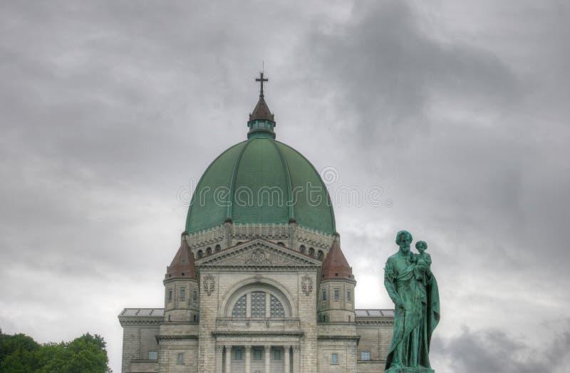 Oratoire Saint Joseph du Mont-Royal royalty free stock photo