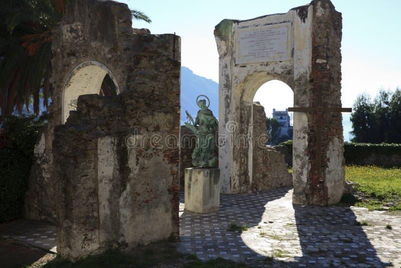 Oratoria del ² di San NicolÃ, Sestri Levante, Genova, Liguria, Italia fotografie stock libere da diritti