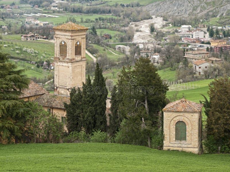 Oratory on Apennines. Oratory on Tuscany Apennines, Italy stock photos