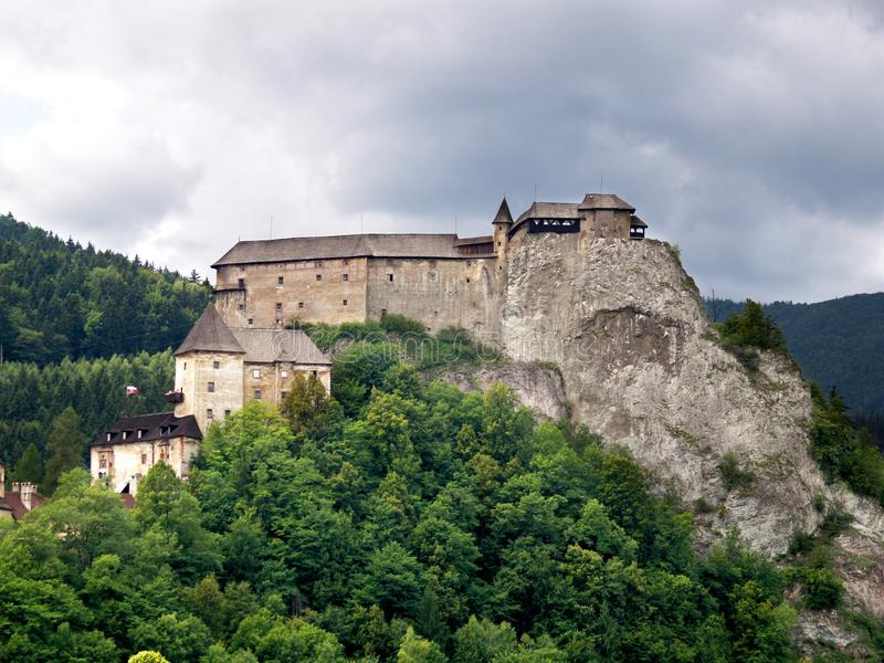 Orava Castle royalty free stock photography