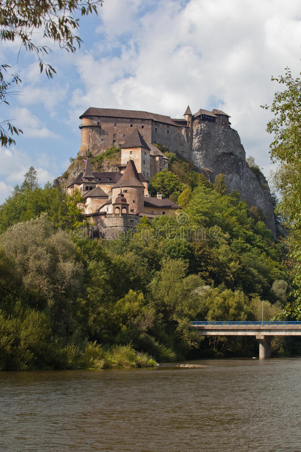 Orava Castle stock images