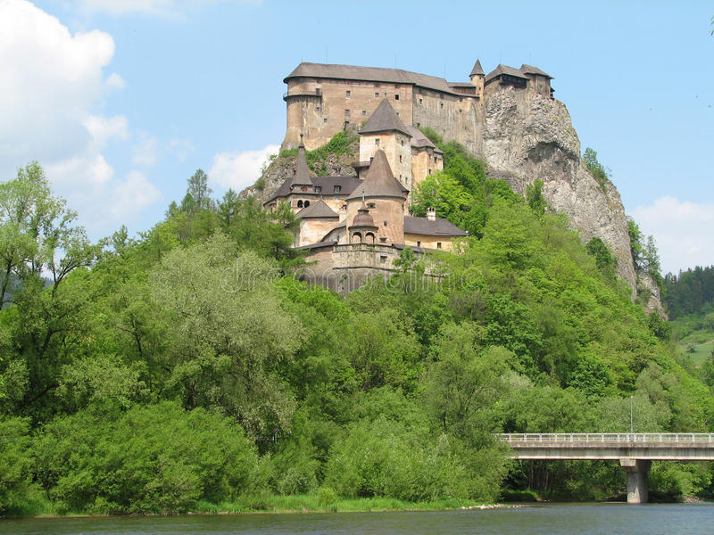 Orava castle royalty free stock photos