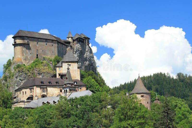 Orava-Schloss stockbilder