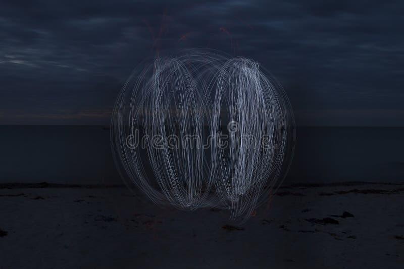 Orb på stranden royaltyfria foton