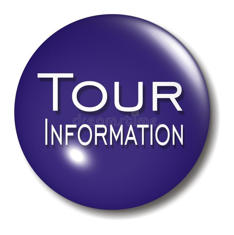 Orb van de Knoop van de Informatie van de reis teken royalty-vrije illustratie
