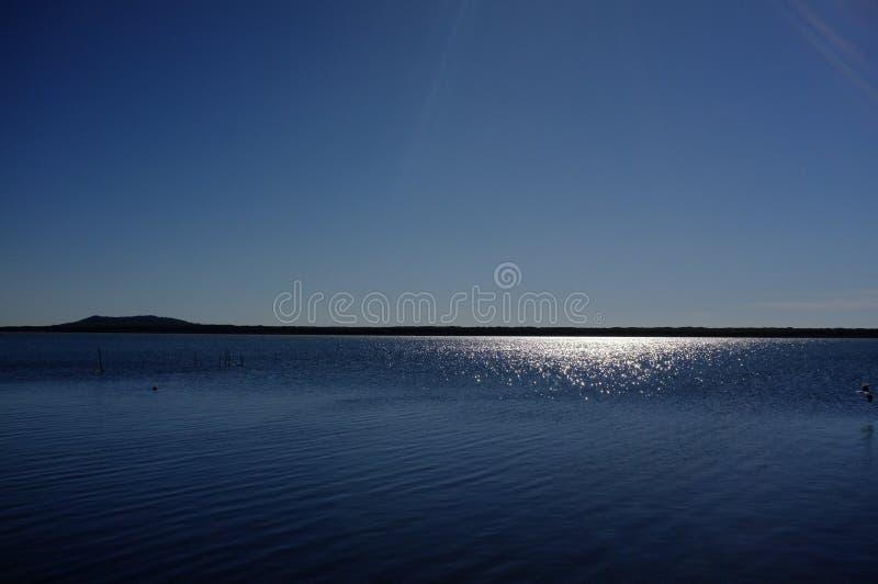 Orbetello lagun royaltyfri bild