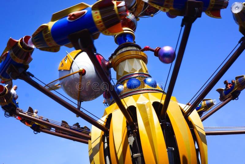 Orbiter Disneys Tomorrowland Astro lizenzfreies stockbild