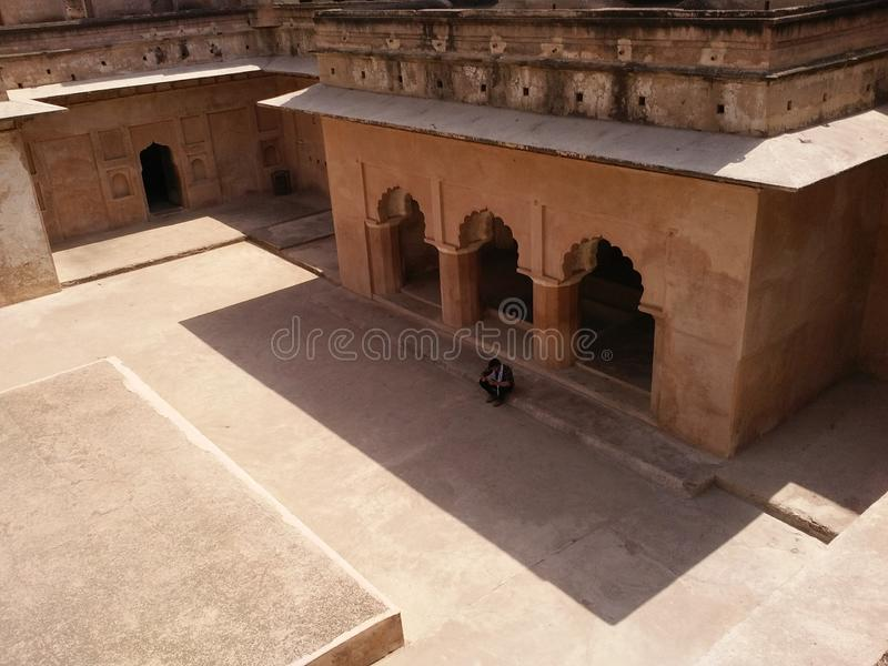 Orcha fort obraz royalty free
