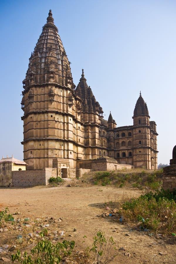 Orcha's Palace, India. royalty free stock photo