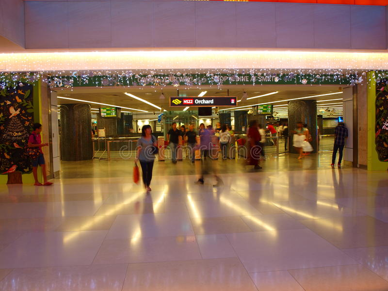 Download Orchard Mrt editorial stock photo. Image of mass, lights - 17439003
