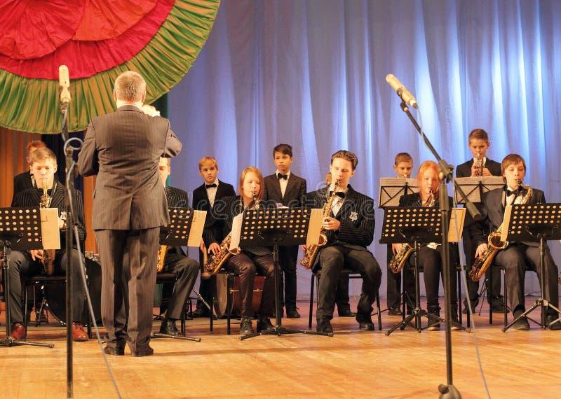 Orchester-Holzblasinstrument stockbild