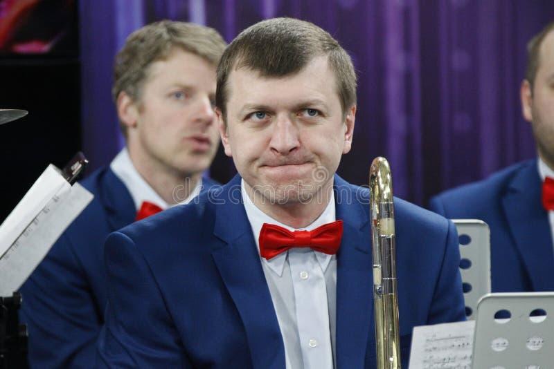 Orchestermusiker lizenzfreie stockfotografie