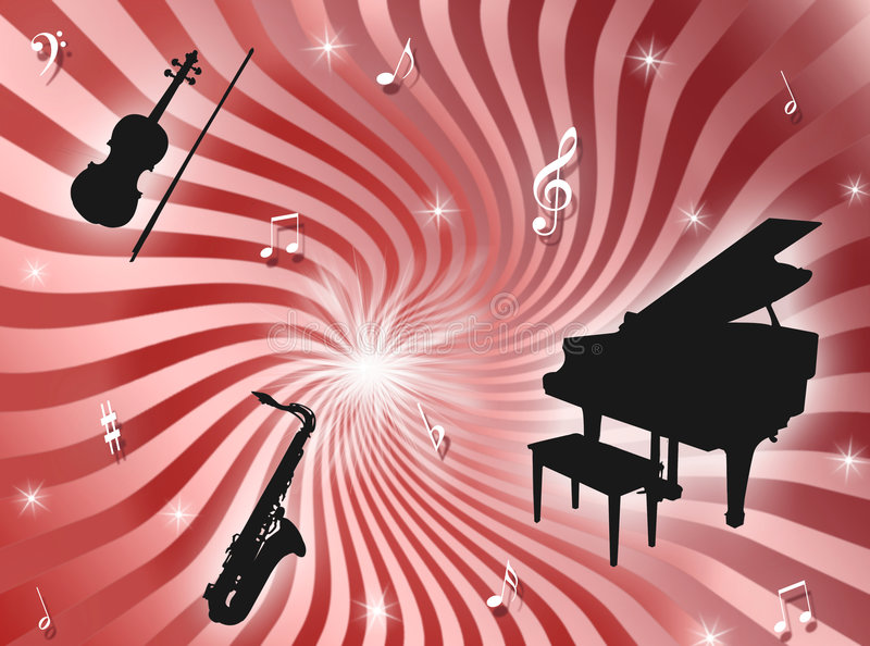 Orchestra Background Royalty Free Stock Photo