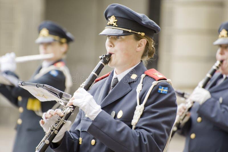 Orchestra del re svedese fotografia stock libera da diritti