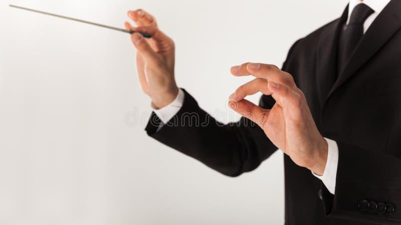 Download Orchestra Leader Stock Image - Image: 28669911
