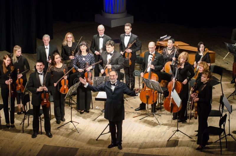 Orchestre de chambre de quatre saisons photos stock