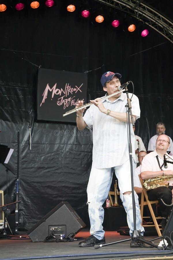 Orchestre du jazz B3 au festival de jazz de Montreux photographie stock