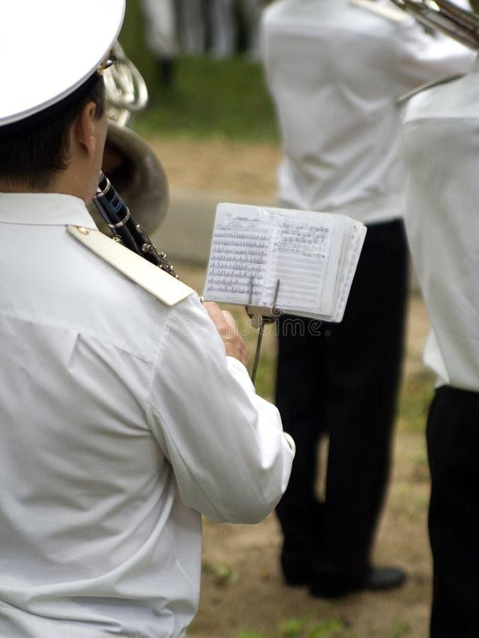 Orchestre militaire images stock