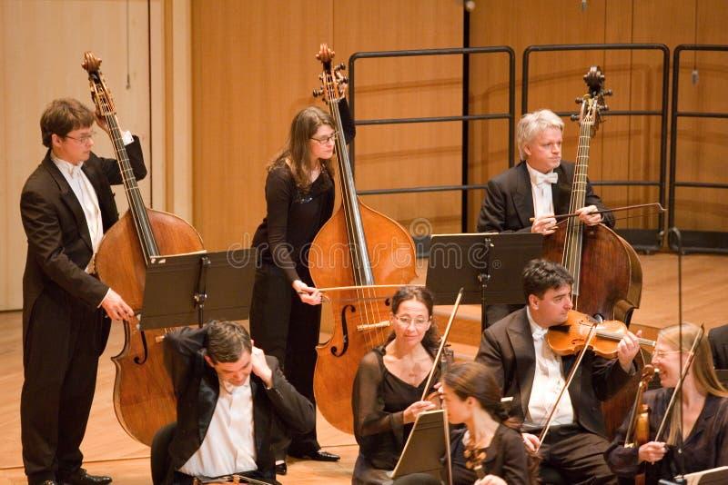 Orchestre philharmonique d'Eterna d'Anima photo stock