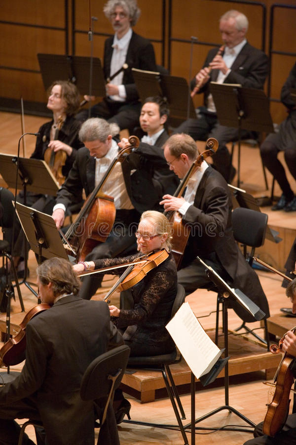 Orchestre philharmonique d'Eterna d'Anima images stock