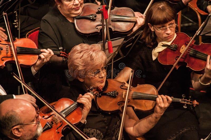 Orchestre symphonique photographie stock