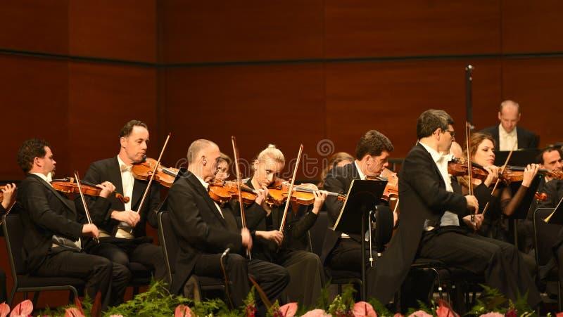 Orchestre symphonique de radio de Vienne images stock