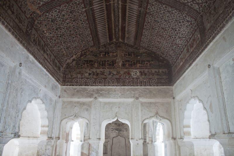 orchha wewnętrzny pałac obrazy stock