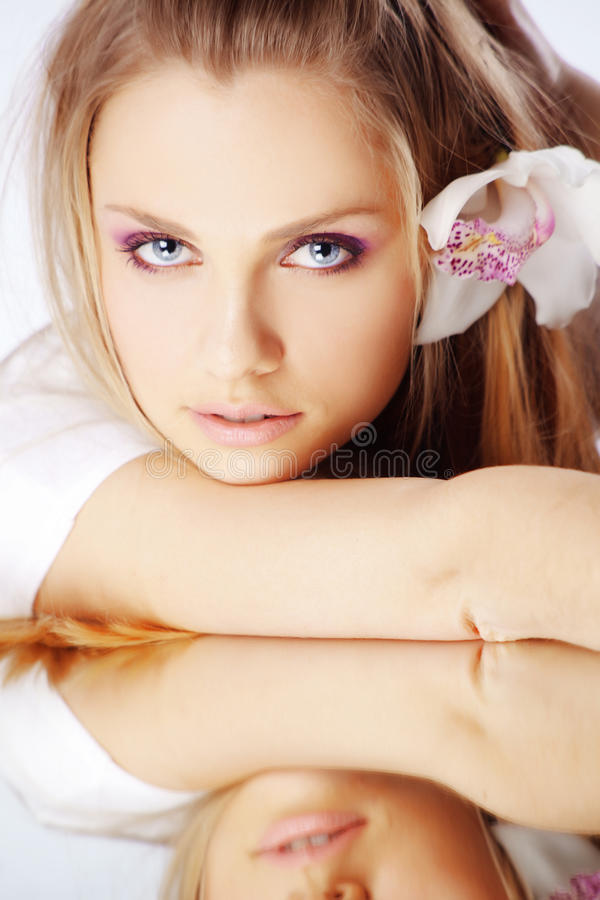 Orchid beauty stock images