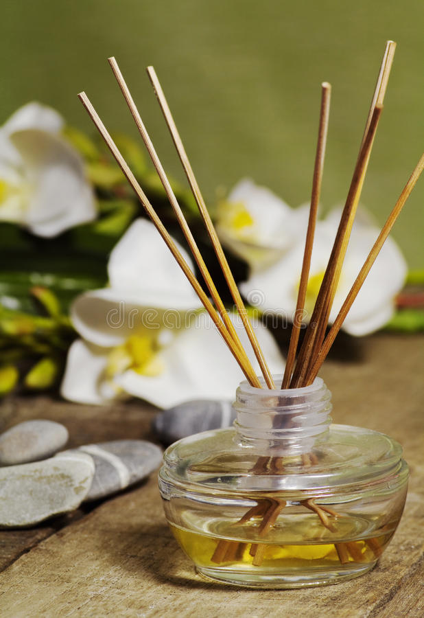 Download Orchid fragrance diffuser stock image. Image of scented - 24569899