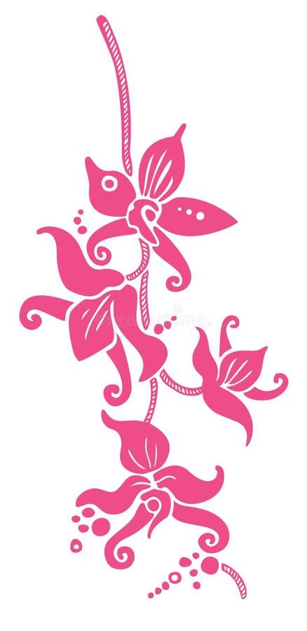 orchidea wektor