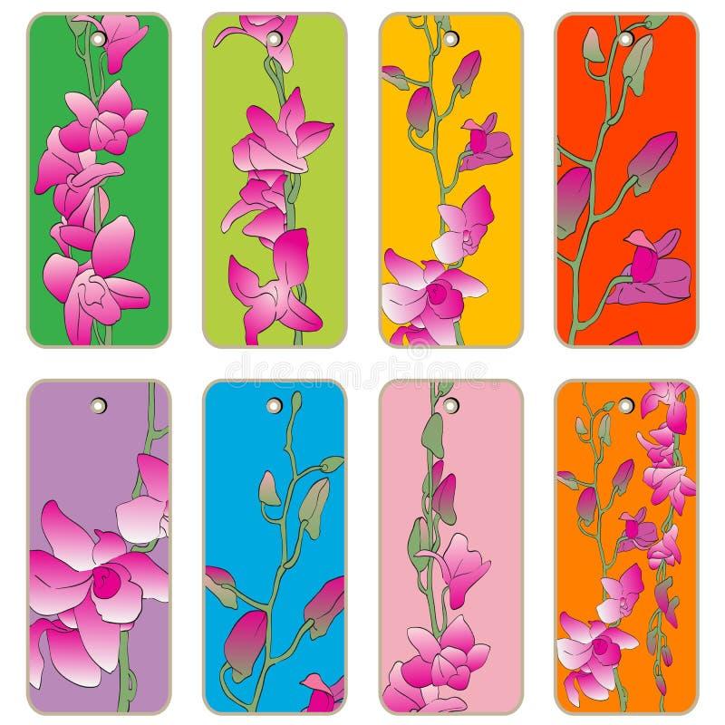 Orchideen-Preise stock abbildung