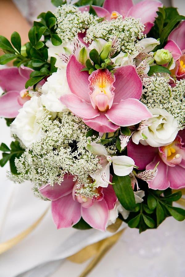 orchids ανθοδεσμών γάμος στοκ φωτογραφία με δικαίωμα ελεύθερης χρήσης