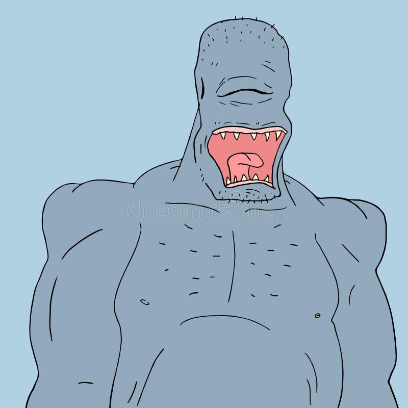 Download Orco brutto illustrazione vettoriale. Illustrazione di creativo - 55357121