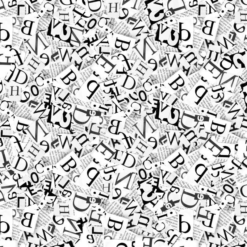 Ord och bokstäver arkivfoto