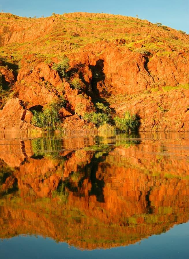 ord rivier westelijk Australië stock foto