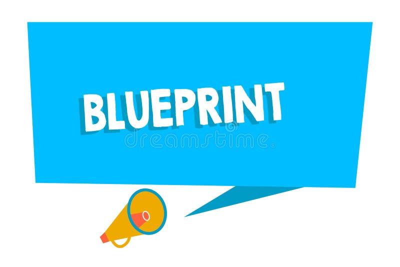 Ord som skriver textritningen Affärsidé för designplan eller annan teknisk teckning av teknikerer för platsmellanrum vektor illustrationer