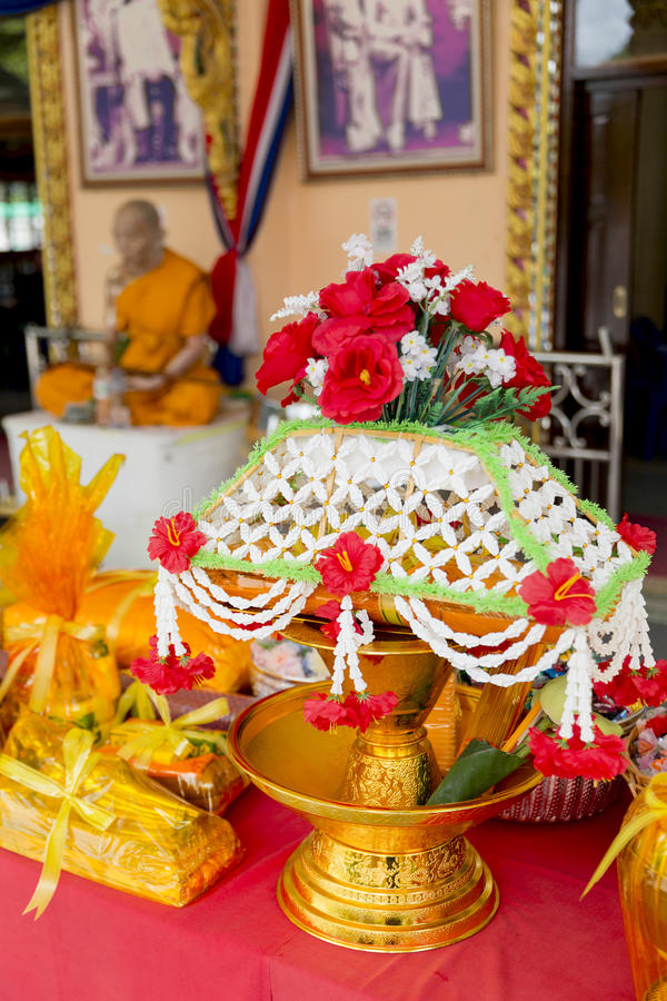 The ordained in Thailand. royalty free stock photos