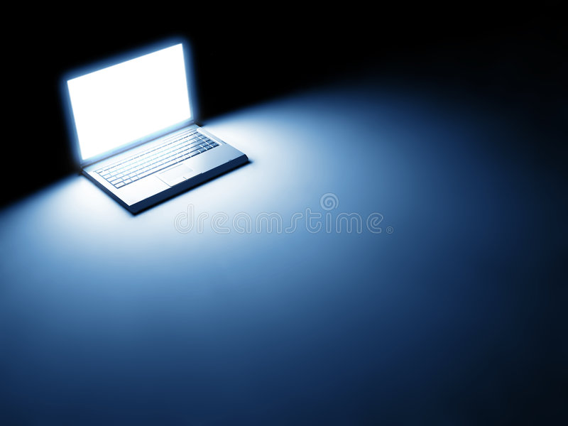 Ordenador portátil fotografía de archivo