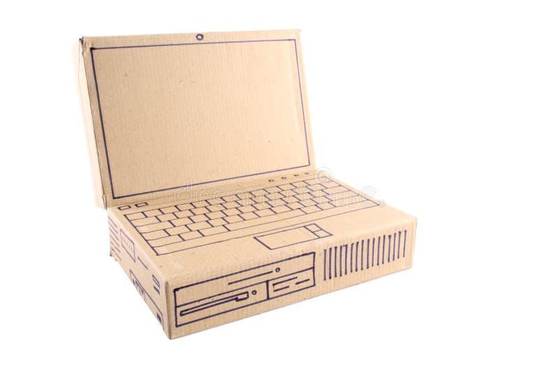 Ordenador portátil - cartulina fotografía de archivo