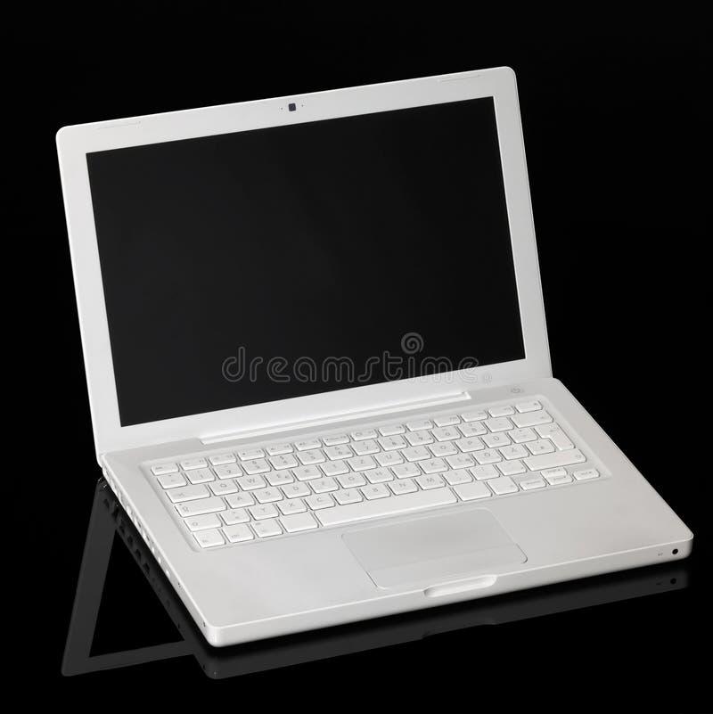 Ordenador portátil de Aple Macintosh fotografía de archivo libre de regalías