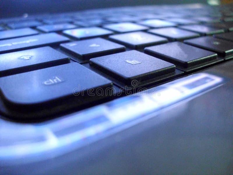 Ordenador portátil del teclado foto de archivo libre de regalías