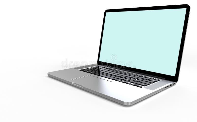 Ordenador portátil moderno imagen de archivo libre de regalías