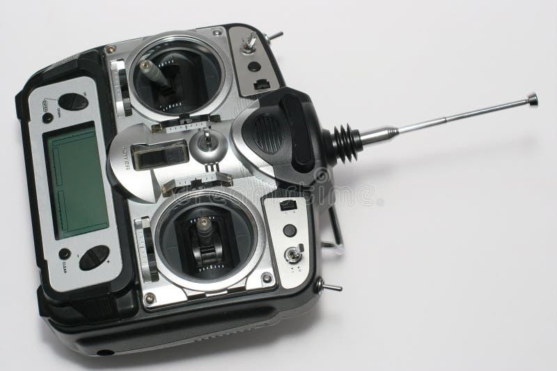 Ordenador profesional teledirigido para el vuelo foto de archivo libre de regalías