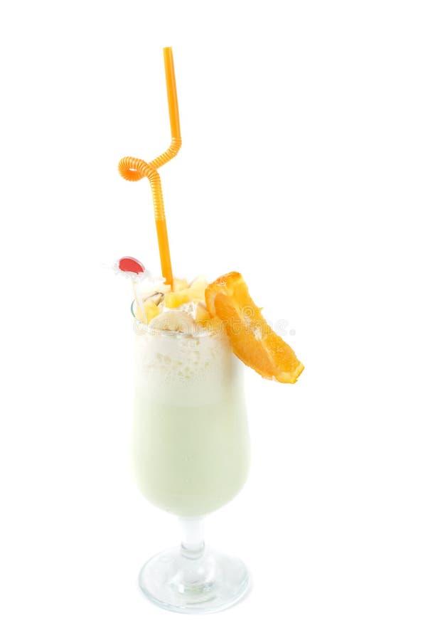 Ordenhe o cocktail de fruta imagens de stock