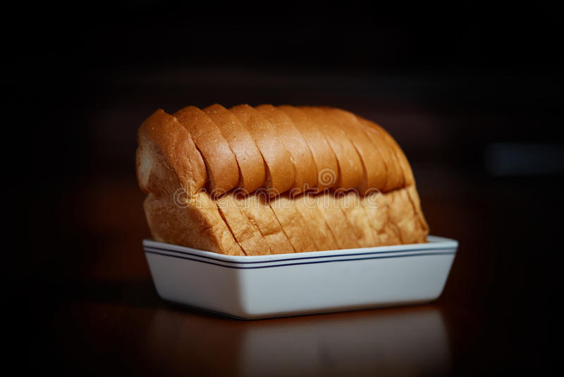 Ordenhe o pão fotografia de stock