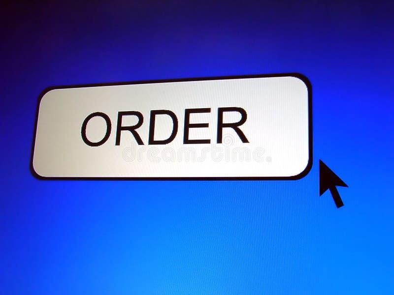 Order Button vector illustration