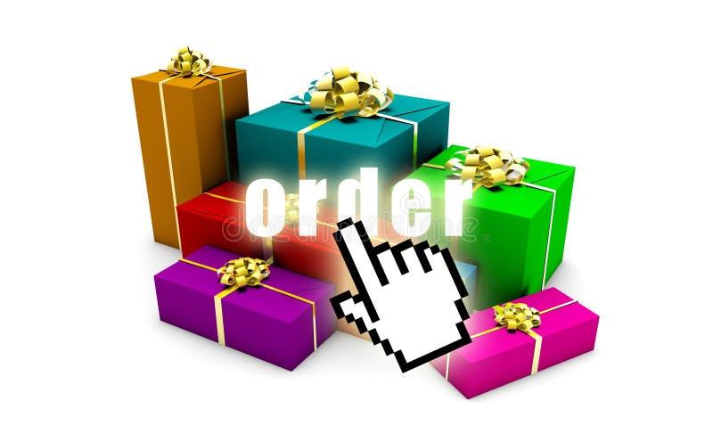 Download Order Online stock illustration. Image of selling, white - 10138653